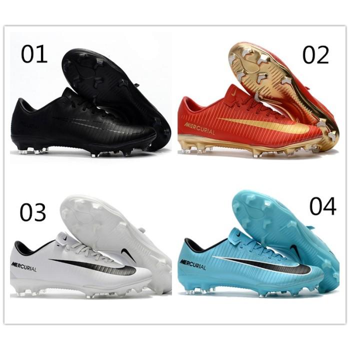 Foto Produk Sepatu Olahraga   Tas Mercurial Vapor XI FG 39-45 Sepatu Sepak Bola dari Quickto