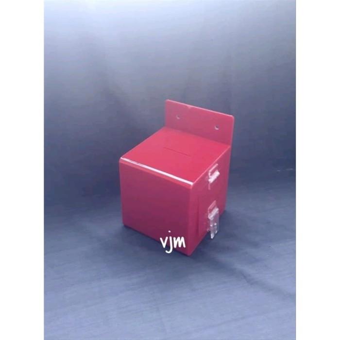 Foto Produk kotak amal acrylic akrilik kotak amal kotak infaq dari hayongstore