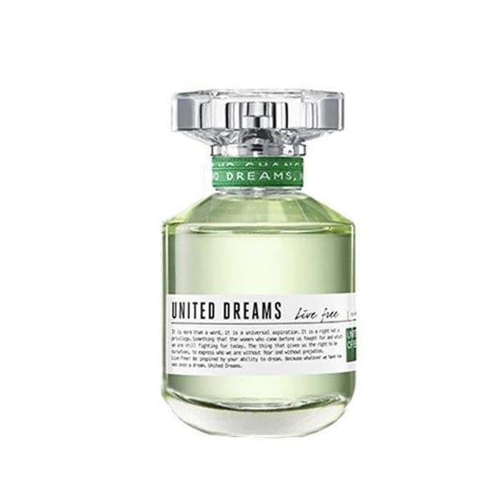 Foto Produk Parfum Original Wanita United Dreams Live Free Edt 100ml Long Lasting dari yakub gunawanshop