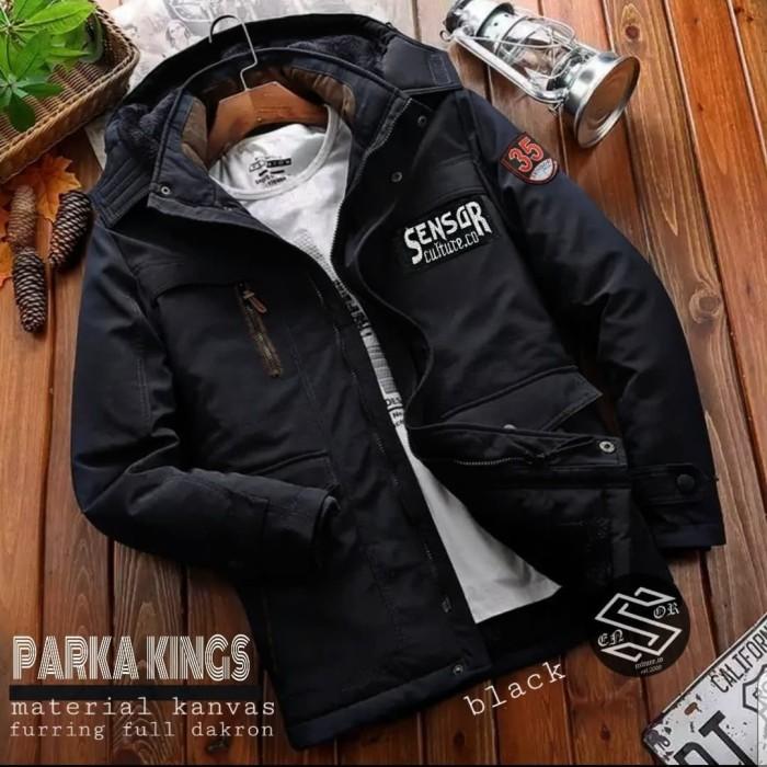 Foto Produk jaket parka kings original sensor - Hitam, M dari sadonyostore
