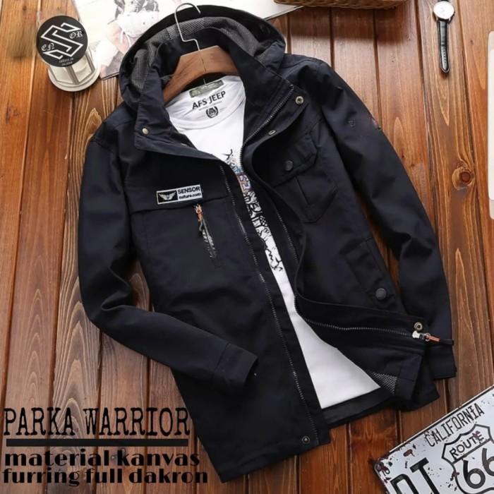 Foto Produk jaket parka warior original sensor - Hijau, L dari sadonyostore