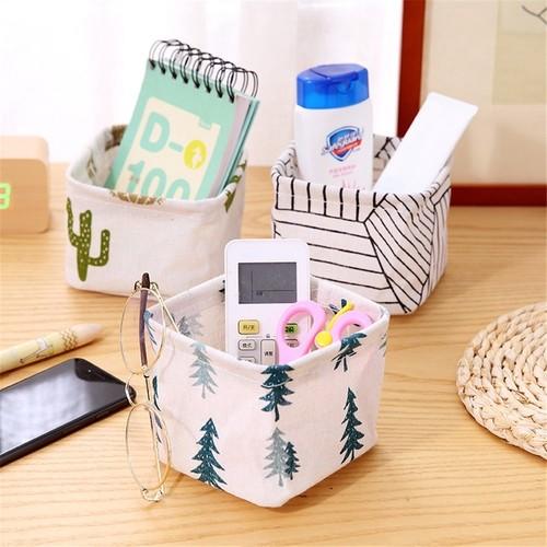 Foto Produk Keranjang Penyimpanan Desktop Tahan Air Organizer Kotak Penyimpanan dari Jujuwlstore