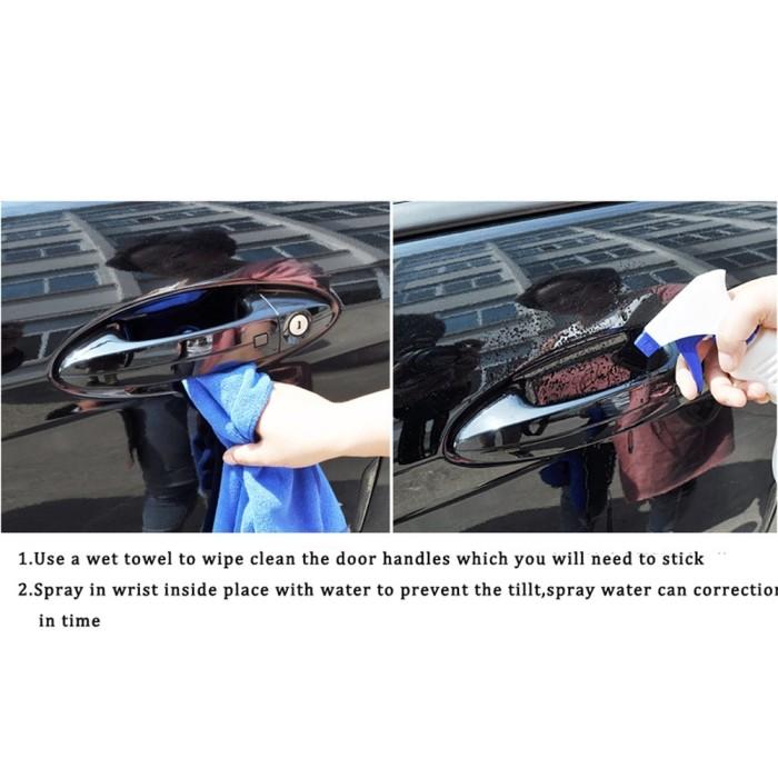 Foto Produk 8Pcs Pelindung Gagang Pintu Mobil Transparan Invisible Universal dari Jujuwlstore