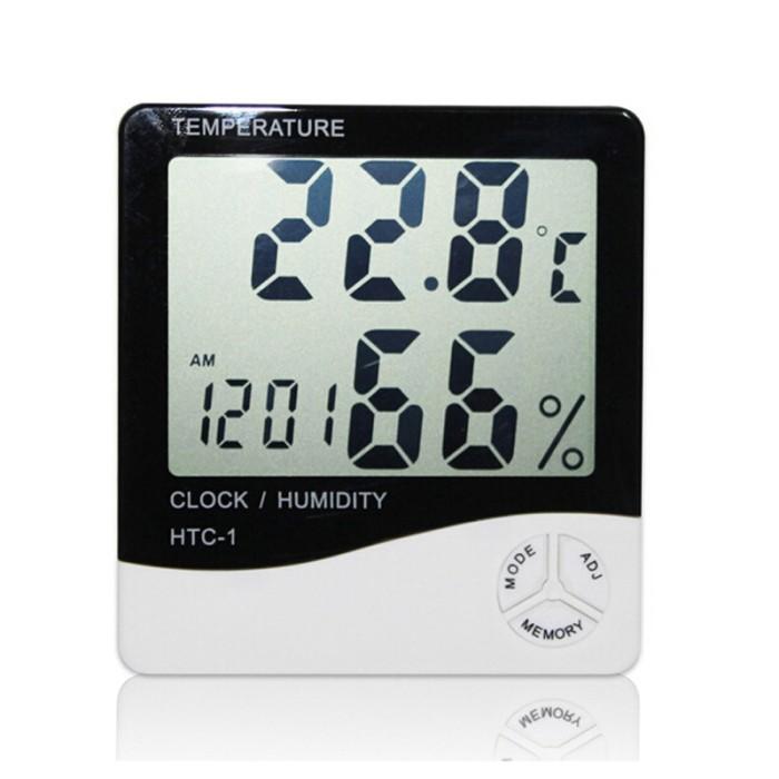 Foto Produk Best☆Digital Thermometer Hygrometer Electronic LCD HTC1 Temperature dari Jujuwlstore