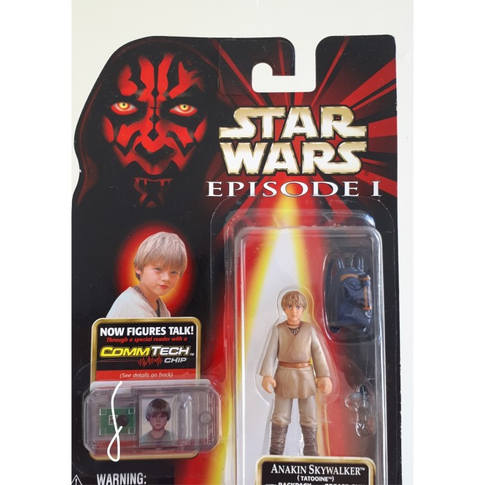 Jual Star Wars Episode I Anakin Skywalker Tatooine With Backpack Kota Surabaya Farragoes Tokopedia