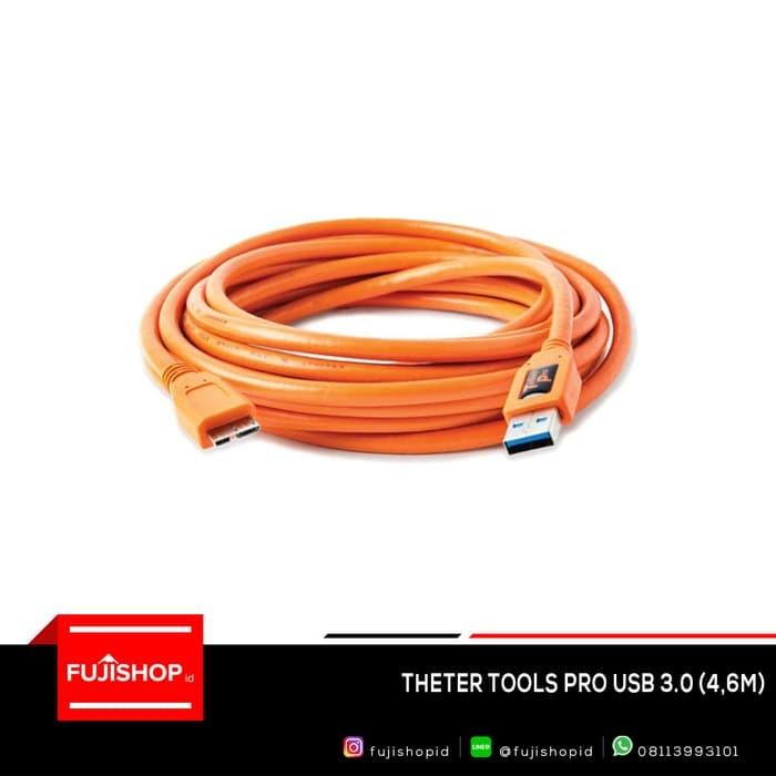 Foto Produk Tether Tools Pro USB 3.0 4.6m dari joehapoy