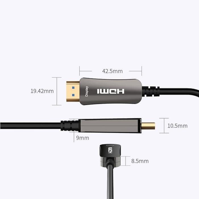 Foto Produk Vention AAE 3M - Kabel High Speed Active Fiber Optic HDMI dari joehapoy