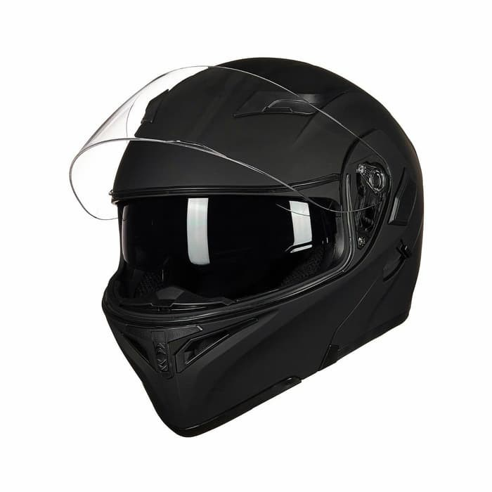 Foto Produk Motorcycle Helmet With Bluetooth Headset Modular dari vinkha g