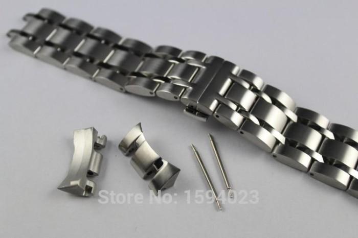 Foto Produk Strap Jam Tangan Stainless Steel Uk 23mm Warna Solid T035617 dari Tuku Onlen Jam