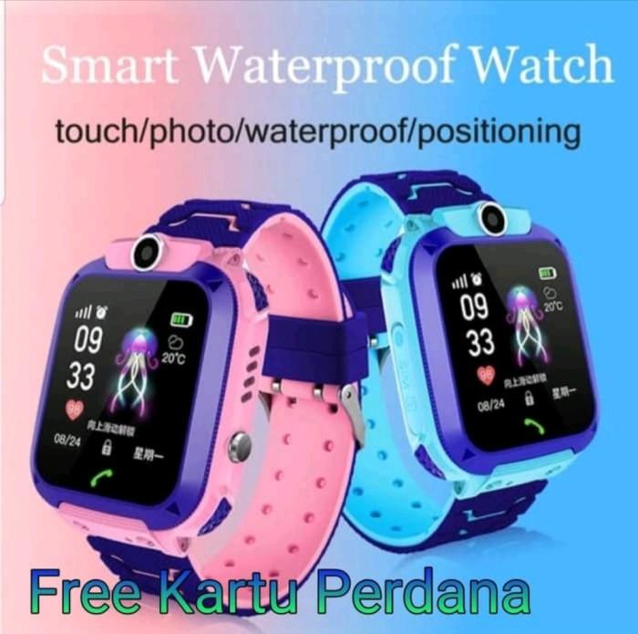 Foto Produk Q12 Waterproof Smartwatch GPS-LBS Camera Touchscreen KG43 dari Hesti ON