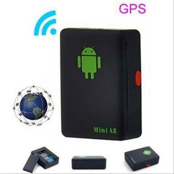 Foto Produk Alat Sadap Suara Mini A8 Tracker GPS / Alat Sadap Lacak KG43 dari Elin_