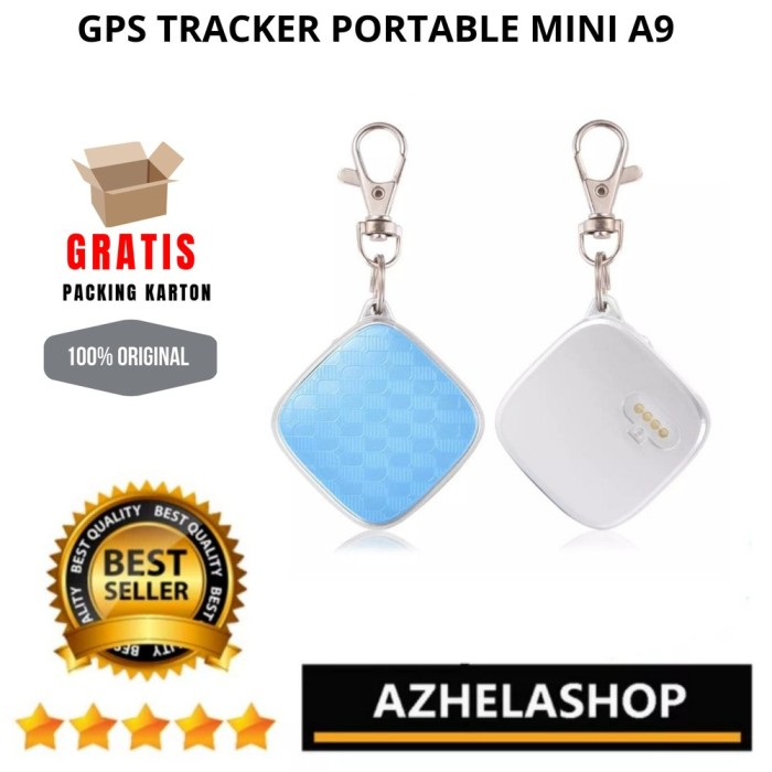 Foto Produk GPS TRACKER PORTABLE MINI TIPE A9 MODEL GANTUNGAN KUNCI KG43 dari Nenot_