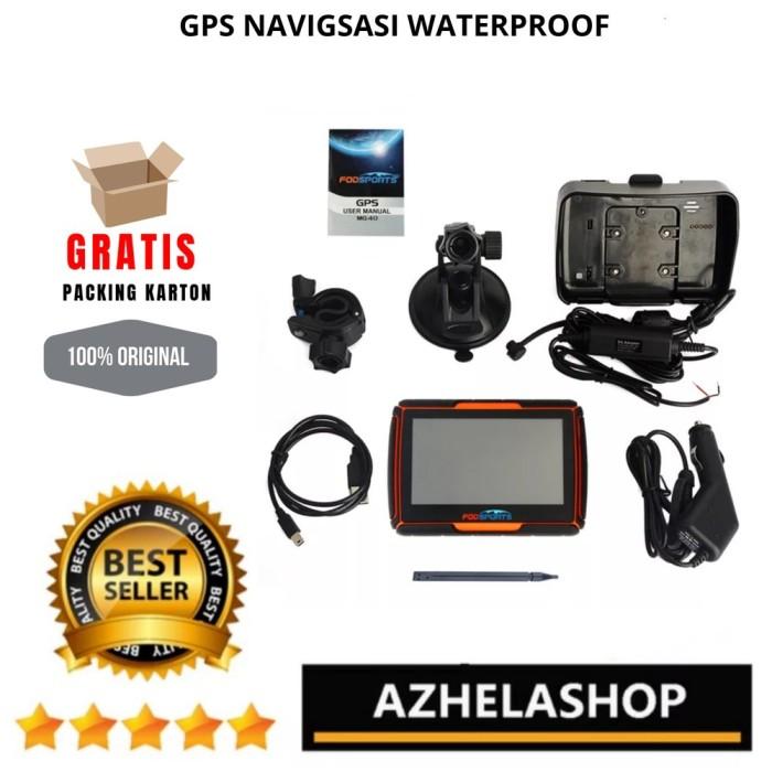 Foto Produk GPS NAVIGASI WATERPROOF ORIGINAL FODSPORT DAPAT 2 BRACK KG43 dari Nanda_Store,