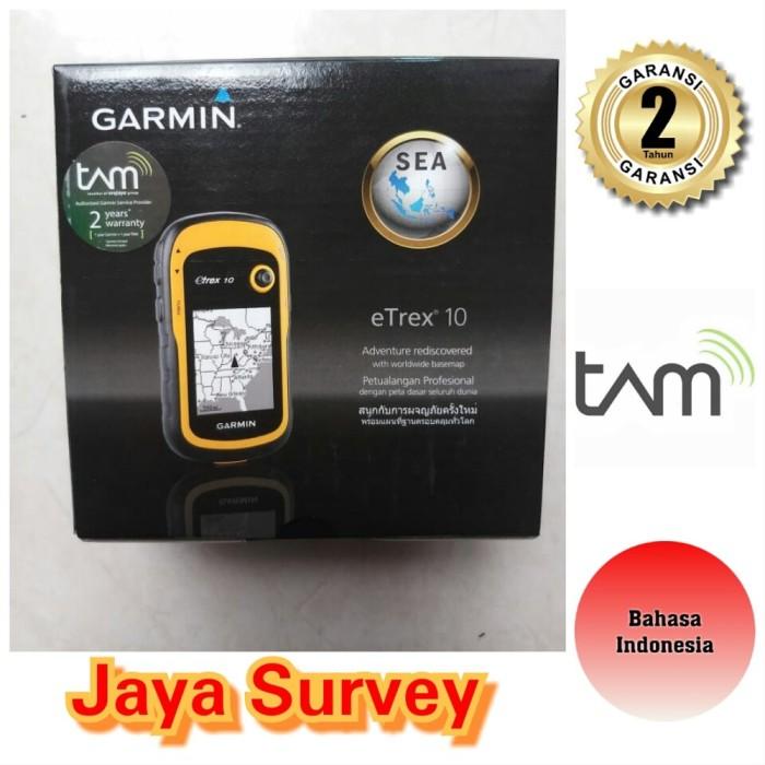 Foto Produk Garmin eTrex-10 - Garansi 2 Tahun TAM KG43 dari Bebe Shopi