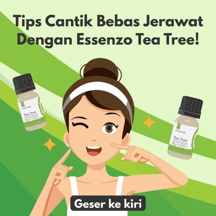 Foto Produk herbal tea tree essential oil perawatan kulit wajah dan atasi jerawat - Kemasan 20ml dari WARUNGEABDIYOGA