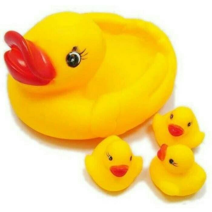 Foto Produk mainan bebek/ aksesoris mandi/ bebek karet dari hiro kenichi
