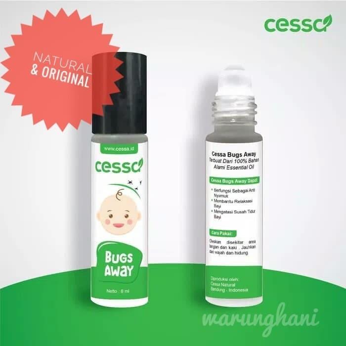 Foto Produk Cessa Bugs Away Essential Oil Anti Nyamuk Bayi Anak dari hiro kenichi