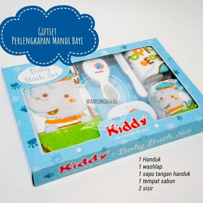Foto Produk Paket Kado Lahiran Bayi Set Handuk Perlengkapan Mandi Bayi Giftset dari hiro kenichi