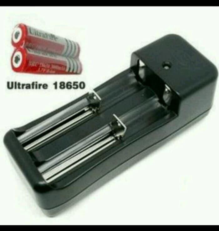 Foto Produk Charger Casan Baterai Battery Batre 18650 Vapor Vape senter laser dari VIVENCA
