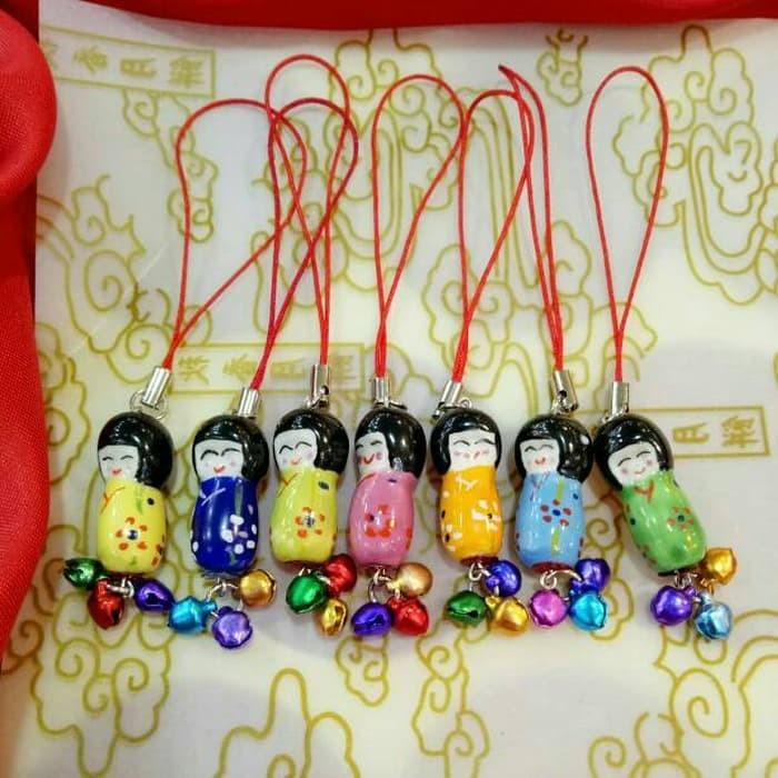 Foto Produk gantungan kokeshi /gantungan HP /accessories jepang /souvenir - Navy dari VIVENCA