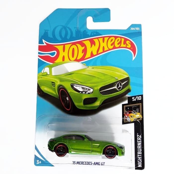 Foto Produk Hot Wheels 15 Mercedes-AMG GT Hijau NightBurnerz Mobil Hotwheels dari VIVENCA