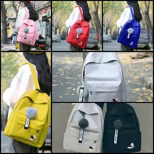 Foto Produk MORYMONY Tas Ransel Backpack Fashion Homme Femme - Hitam dari UrbanCollection