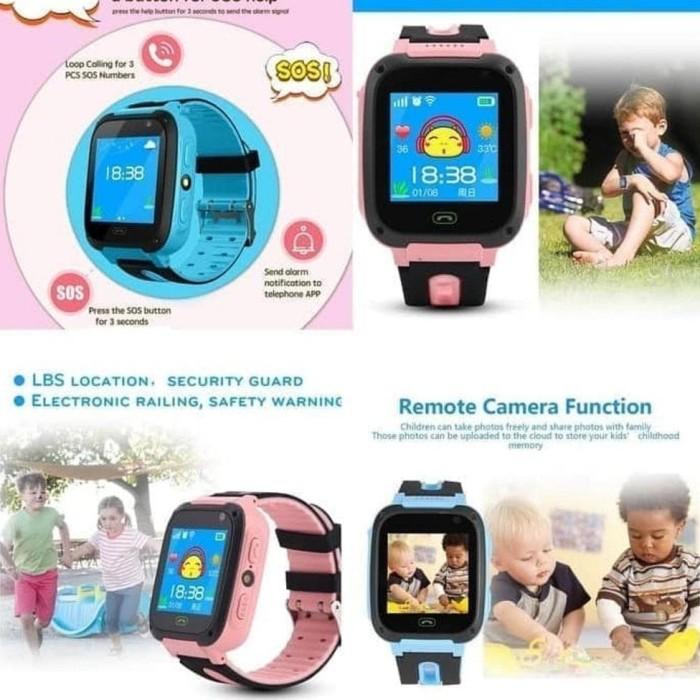 Foto Produk JAM TANGAN HP JAM AIMO FASHION ANAK JAM Jam Tangan Anak Smartwatch dari Anita Rahayuz