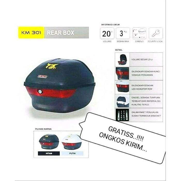 Foto Produk KOMPLIT DENGAN BREKET BOX Motor KMI 301 dari dindaqor