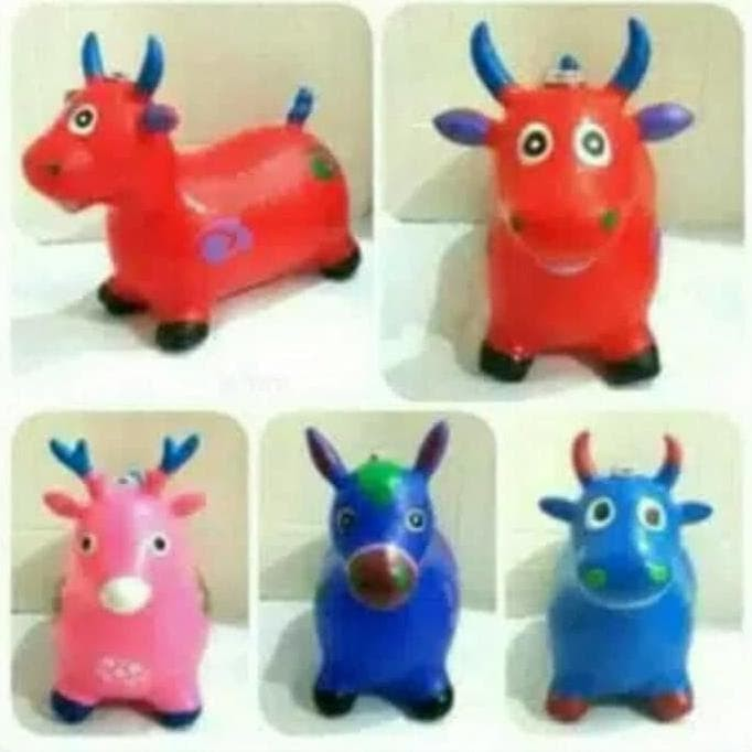 Foto Produk Kuda-kudaan karet / Mainan Anak Jumping Animal - Kuda Kudaan Mainan dari Andri Andoro