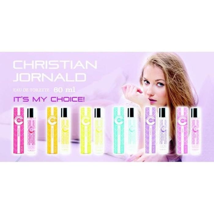 Foto Produk Christian Jornald EDT Perfume wanita dari PKU_KU STORE