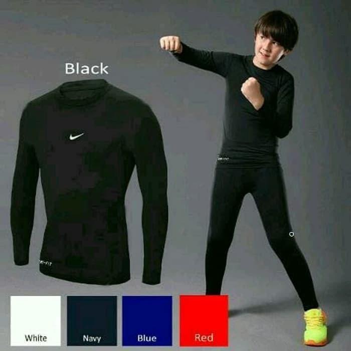 Foto Produk Palingmurah Kids Manset Baselayer Thumbhole Nike Adidas Grade Ori Kids dari PUTRI AULIAYANI