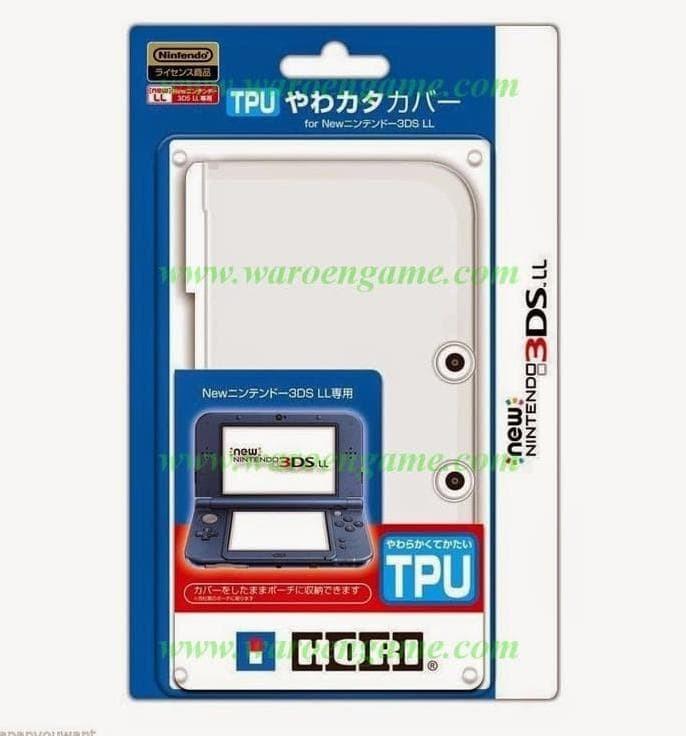 Foto Produk HORI TPU new3DS XL (Clear) dari ramashinta_olshop
