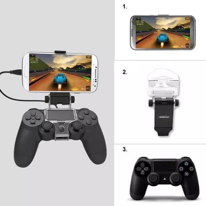 Foto Produk DOBE MOBILE PHONE CLAMP GAME CLIP HOLDER STIK dari FajarrahmanOlshop