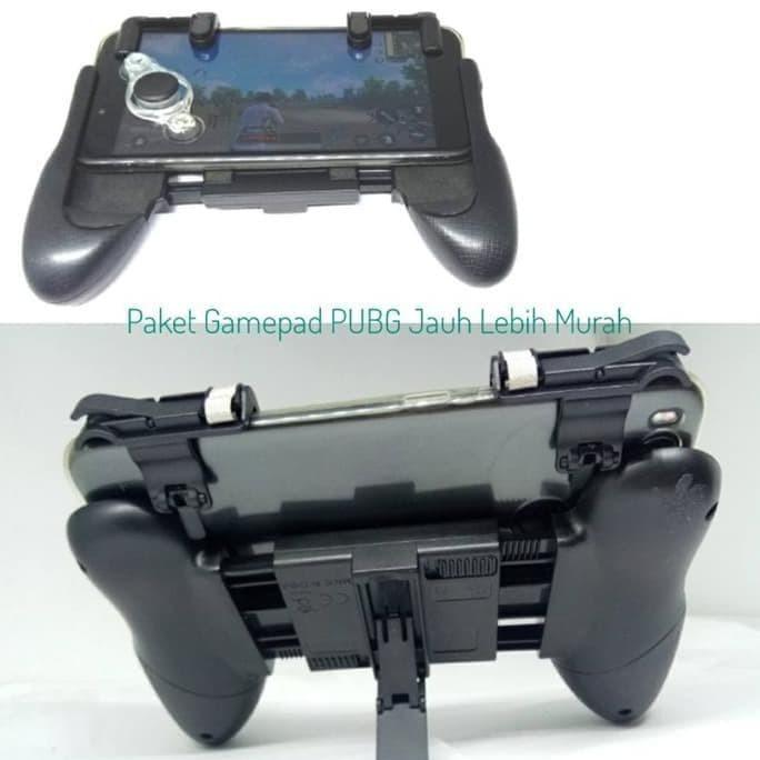Foto Produk Paket Gamepad PUBG - Gamepad V.02 + Joypad + L1 R1 Fire dari FajarrahmanOlshop