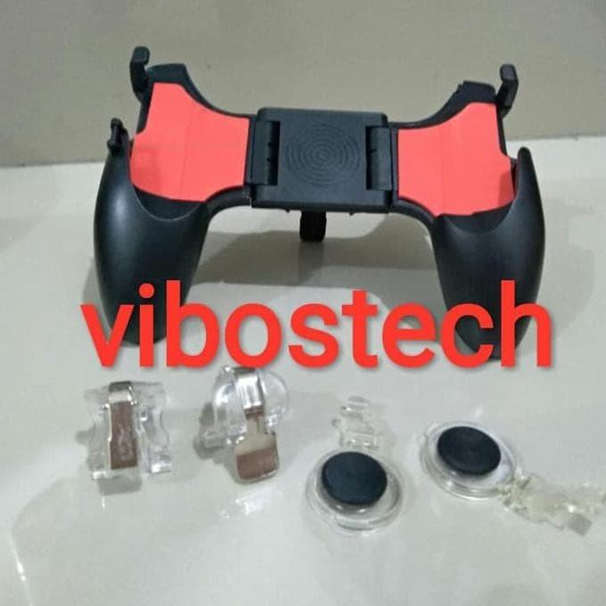 Foto Produk Gamepad 5in1 Moba Analog PUBG L1R1 game pad stand lipat dari FajarrahmanOlshop