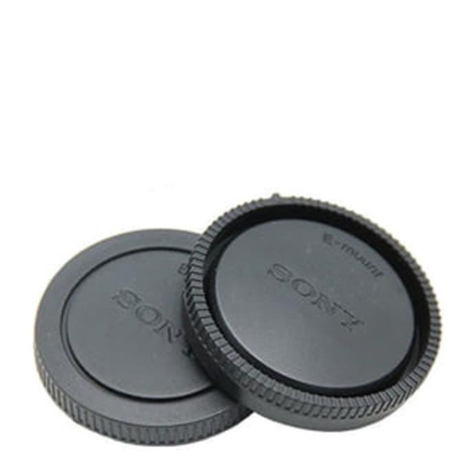 Foto Produk Body & Rear Cap Tutup Body Dan Lensa Belakang Sony E-Mount Nex6 A7 dll dari FuadsalimStore