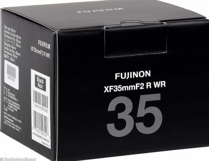 Foto Produk Fujifilm Fujinon XF 35mm F2 R WR Black Brand New Garansi Resmi FFID dari FuadsalimStore