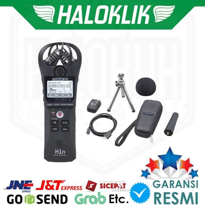 Foto Produk Zoom H1n H 1n Digital Handy Recorder Accesories Kit / Aksesoris Kit dari NiaSafitri4658