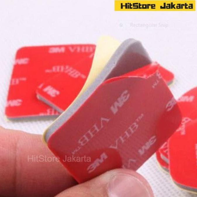Foto Produk 3M VHB Sticker Curved Mount Flat Mount Sticker GoPro SJCAM Xiaomi YI dari NiaSafitri4658