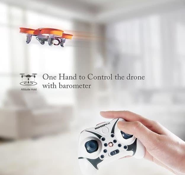 Foto Produk Boldclash BWhoop B03 Micro Drone 716 Motor Altitude Hold - Orange dari Wardanibayu_store