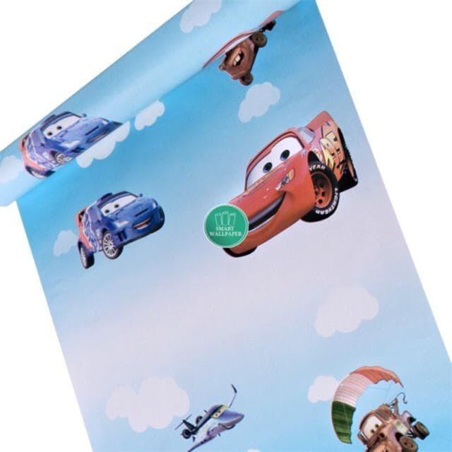 Foto Produk WALPAPER RUANGAN Cars | Wallpaper 45cm x 10m dari TONG MESER