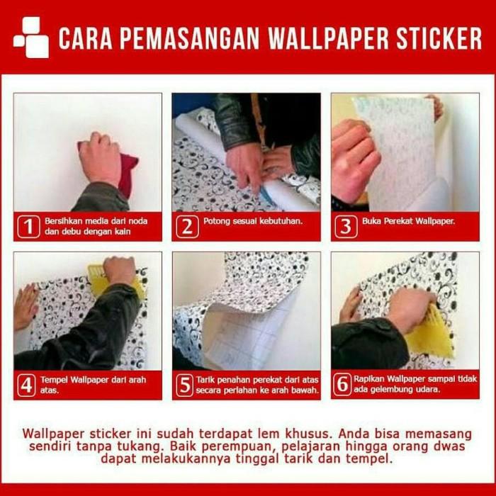 Foto Produk WALPAPER RUANGAN 1 KG 1 Roll Wallpaper 10 meter X 45 cm wallpaper dari TONG MESER
