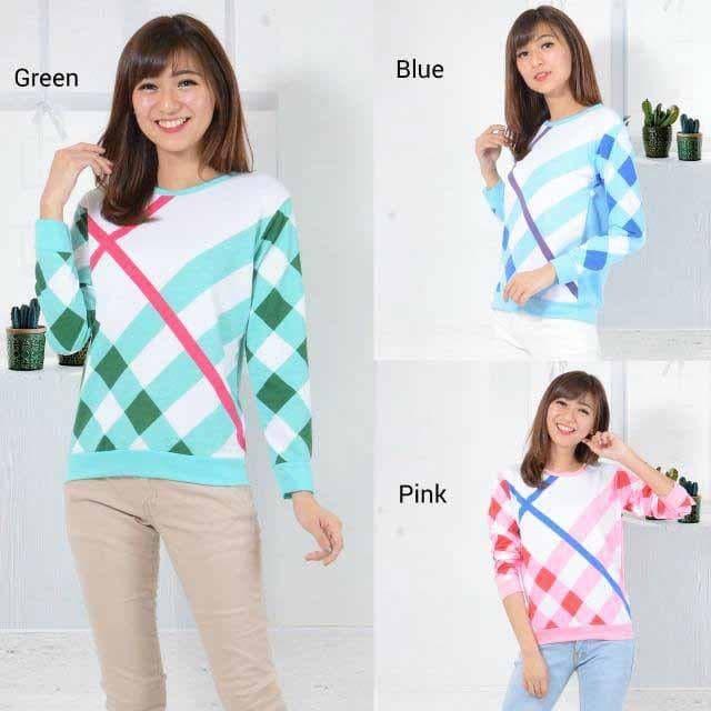 Foto Produk Sweater Lengan Panjang MONICA dari -SUPER STORE-