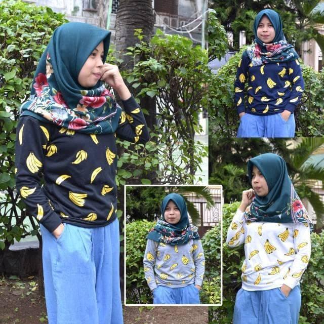 Foto Produk Celline - Sweater New Banana Sweat Real Pict dari -SUPER STORE-