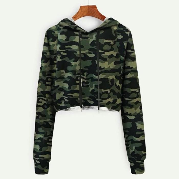 Foto Produk SS Hodie Army Loreng / Atasan sweater / 503 dari -SUPER STORE-