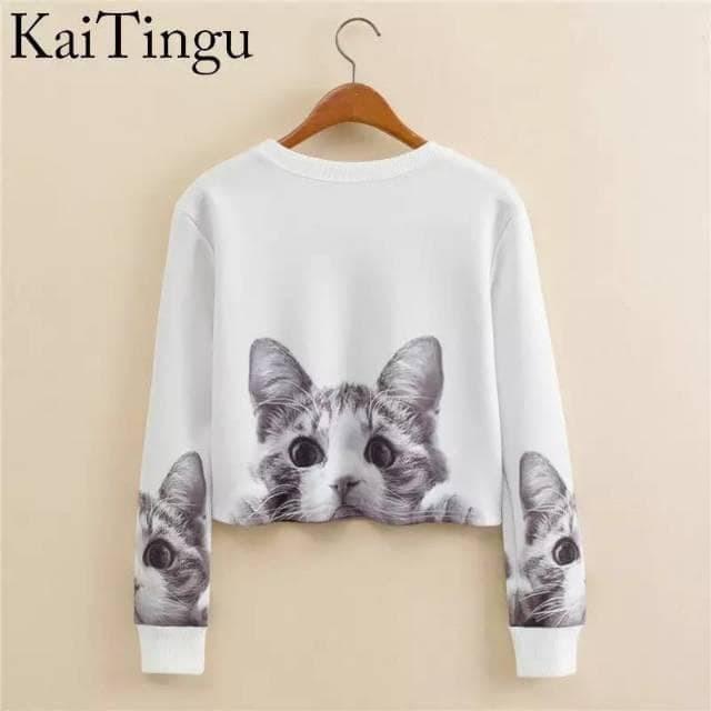 Foto Produk Celline - Sweater Cute Cat dari -SUPER STORE-