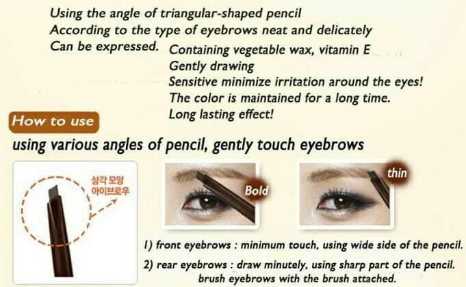 Foto Produk The face shop design my eyebrow refill dari Adelardstore2