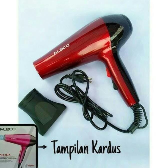 Foto Produk Hair Dryer FLECO 213 A/ Hairdryer/ Pengering Rambut dari Adeliastore21