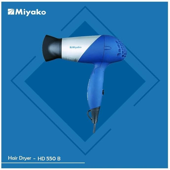 Foto Produk Miyako Hair Dryer – HD550 dari Adeliastore21