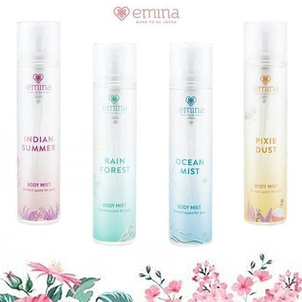 Foto Produk Emina Body Mist 10 ml dari JOEFIE Store